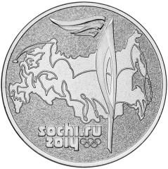 Продам монеты 25руб Олимпиада в Сочи